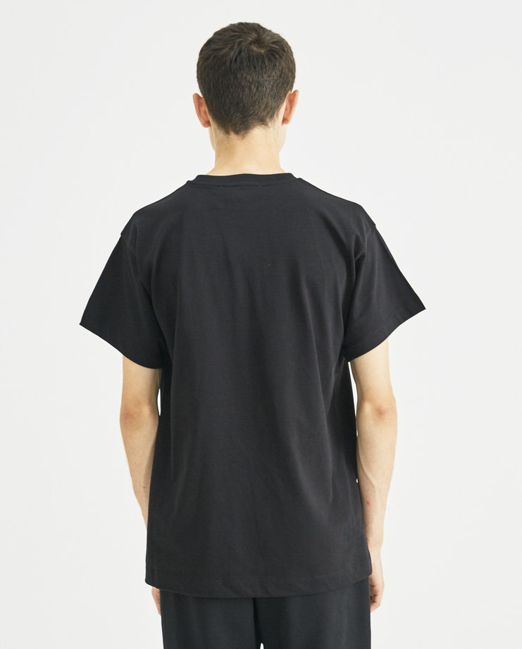Gosha Rubchinskiy Black Graphic T-Shirt G013T011 Machine-A MACHINE A SHOWstudio Tee Print new collection A/W 18 Printed