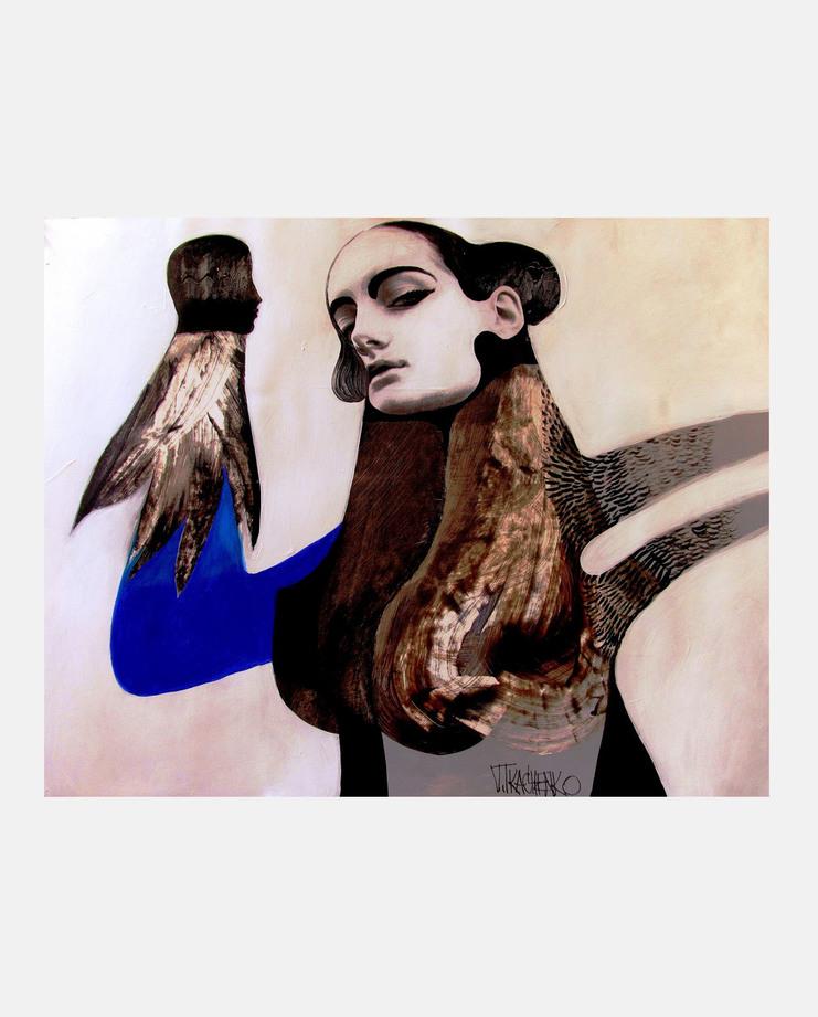 Jean Paul Gaultier Haute Couture A/W 18, Victor Tkachenko, showstudio, fashion illustration, fashion illustration gallery, couture