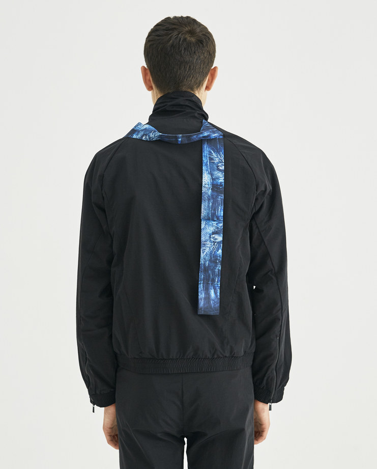 COTTWEILER Black Harness Track Top CWTT 19 new collection AW 18 Machine-A MACHINE A SHOWstudio mens tops tracksuit top