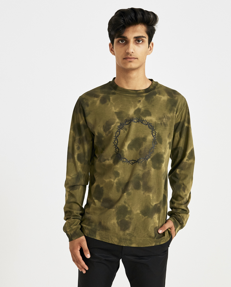 ALYX Camouflage Long Sleeves Relentless Collection T-shirt Machine-A Machine A SHOWstudio A/W 18 tee camo limited edition collection