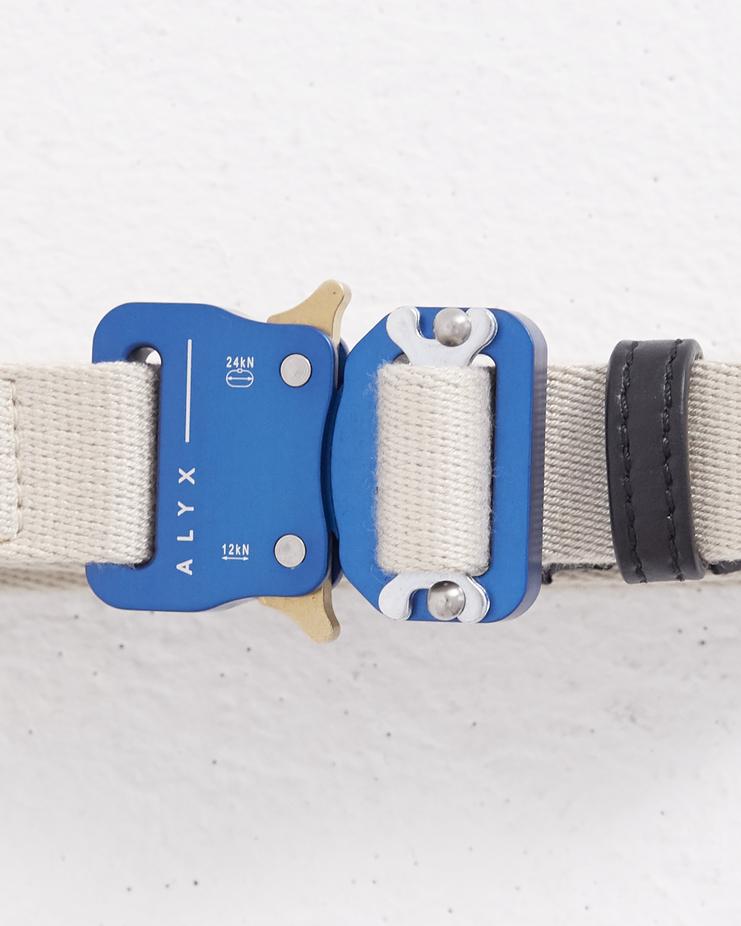 ALYX Natural Medium Rollercoaster Belt Machine-A Machine A SHOWstudio alxy roller coaster waist belt metal buckle