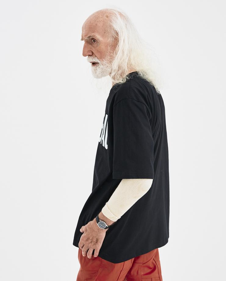 Martin Asbjørn Black Dirtbag T-shirt Machine-A Machine A SHOWstudio A/W 18 cotton printed graphic tee martin asbjorn