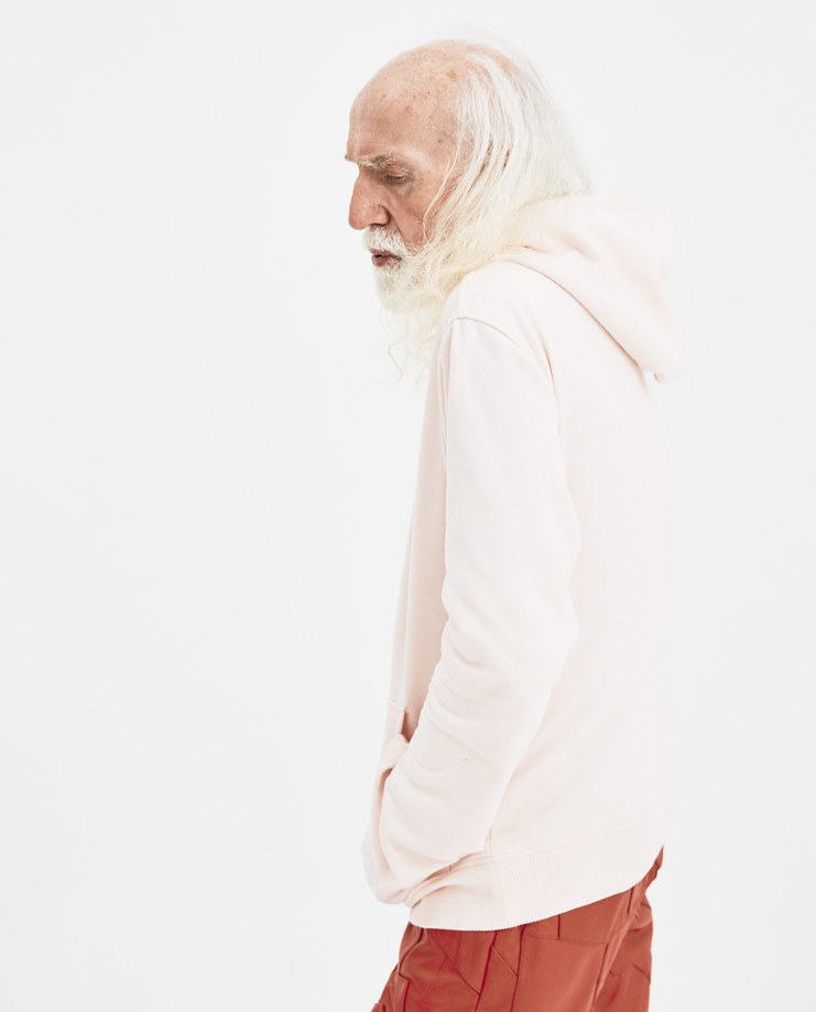 Martin Asbjørn Pink Heart Embroidery Woody Hoodie Machine-A Machine A SHOWstudio A/W 18 Teenage Dirtbag collection