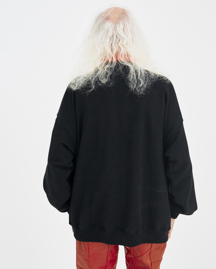 Martin Asbjørn Black Woody Turtleneck Sweatshirt Machine-A Machine A SHOWstudio A/W 18 martin asbjorn turtle neck