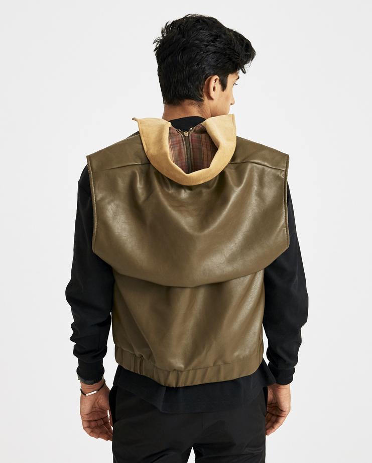 Y/PROJECT Khaki Hunting Vest JACK29-S15 new collection yproject y-project AW 18 Machine-A MACHINE A SHOWstudio menswear mens vest coat jacket