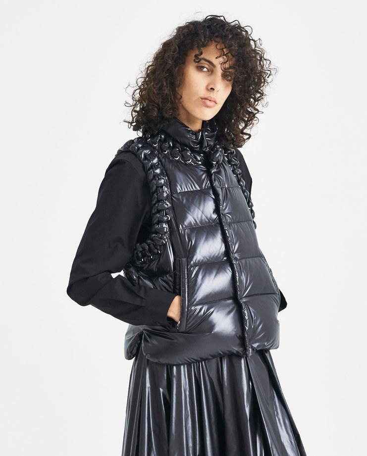 6 Moncler Genius Noir Kei Ninomiya Black Agate Vest Moncler Genius 48301-00 moncler collaboration project Machine-A SHOWstudio womenswear puffa jacket