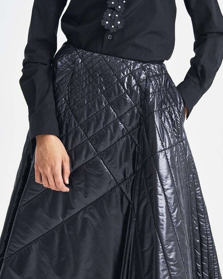 Moncler Genius 6 Moncler Genius Noir Kei Ninomiya Stitched A-Line Skirt Machine-A Machine A SHOWstudio A/W 18 limited edition collection