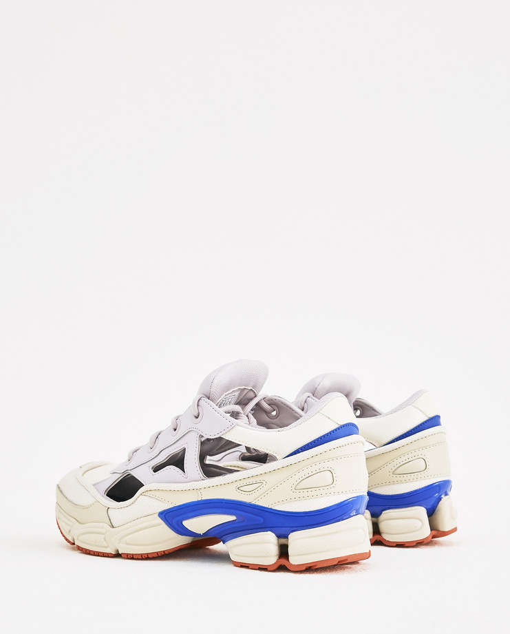 adidas x Raf Simons White and Lilac Replicant Ozweego F34237 Machine-A Machine A SHOWstudio A/W 18 sneakers trainers rafsimons