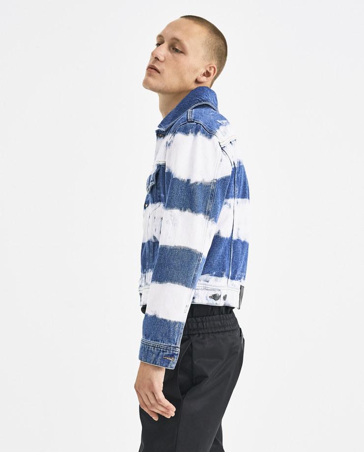 Liam Hodges Pink Hamburglar Denim Jacket LH-AW18-102 autumn winter collection Machine-A Machine A SHOWstudio menswear jackets