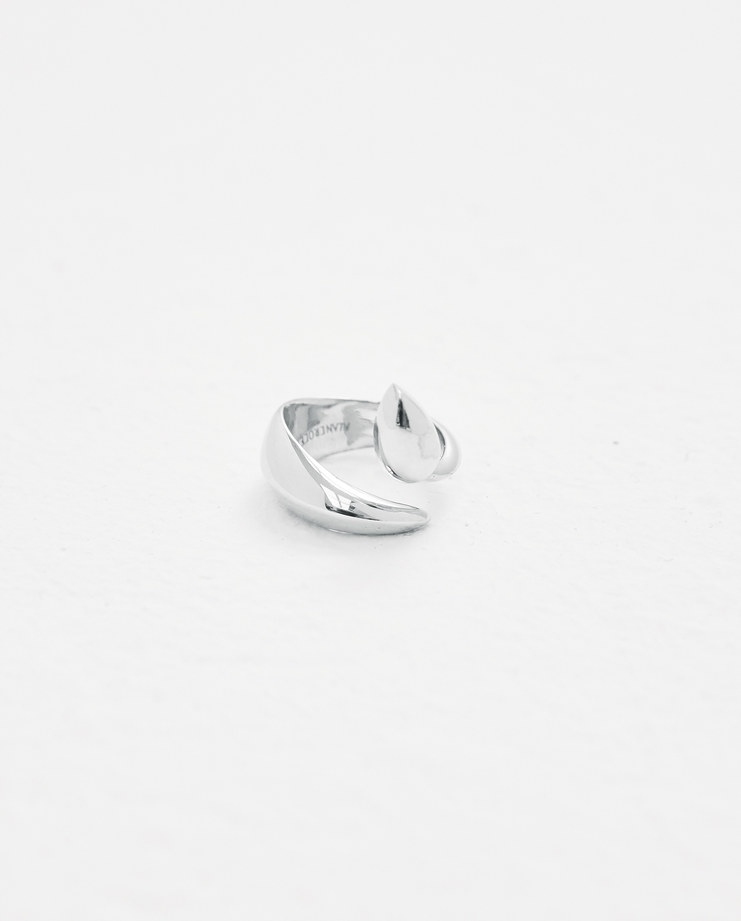 ALANCROCETTI Silver sculpted ring Machine-A Machine A SHOWstudio 925 sterling silver made in london
