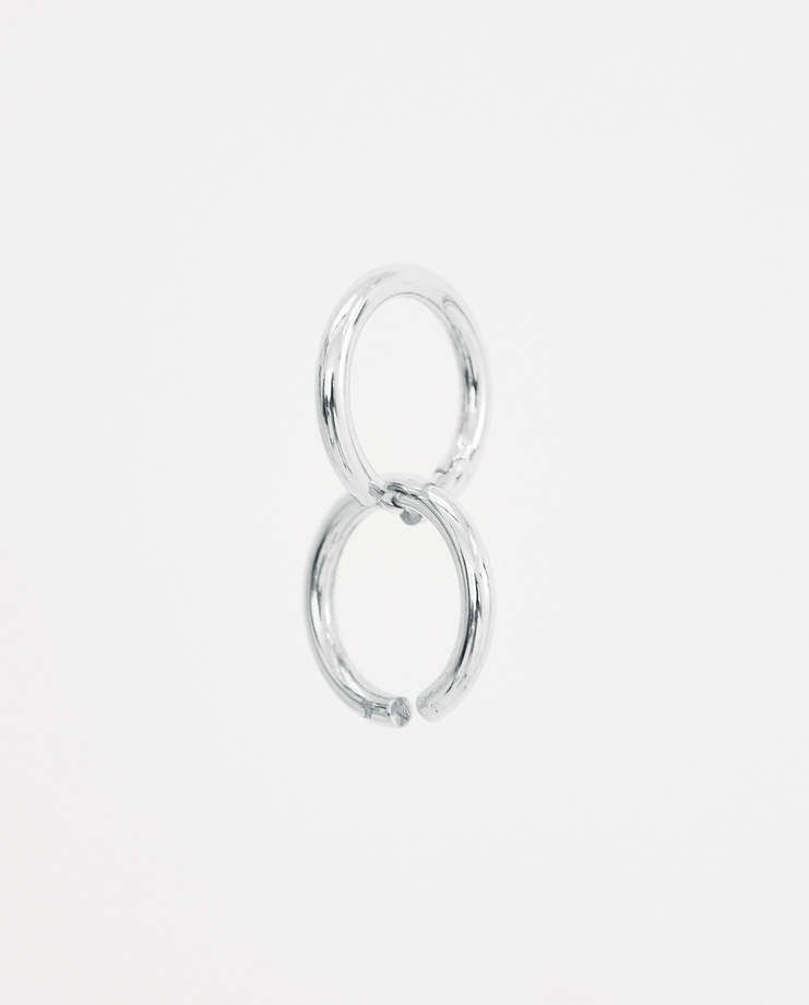 ALANCROCETTI Silver Loophole Ear Set Machine-A Machine A SHOWstudio 925 sterling silver round london