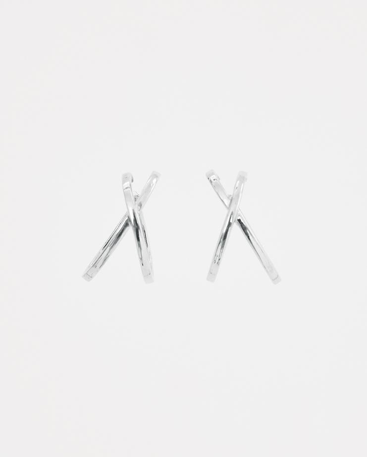 ALANCROCETTI Silver Space Ear Cuffs Machine-A Machine A SHOWstudio A/W 18 aw18 sterling silver ear set