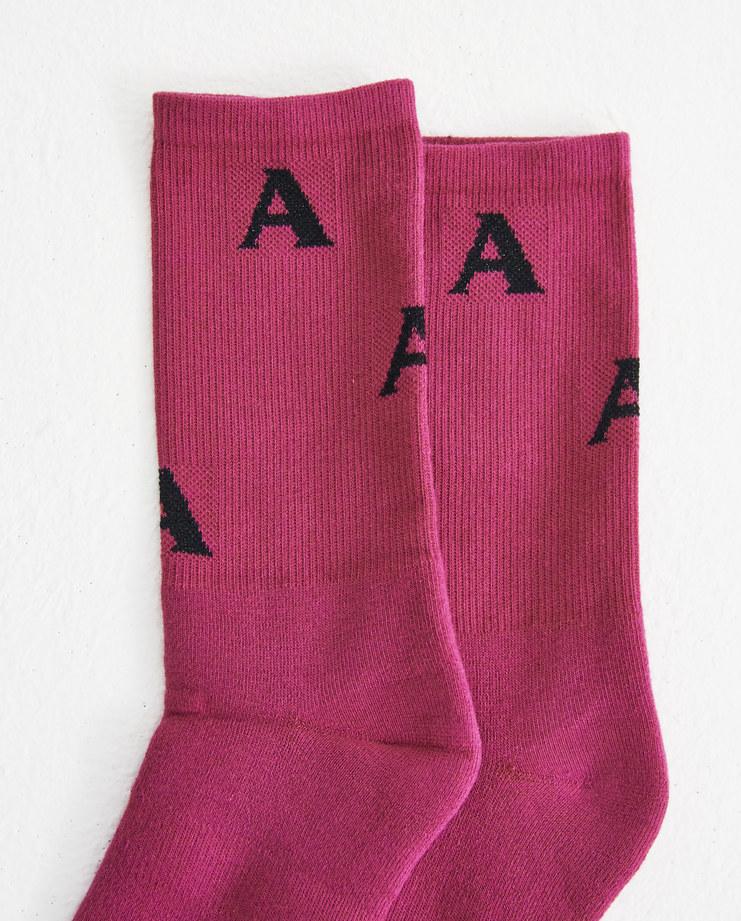 ALYX Pink Triple A Socks AAWSS0007A008 Machine-A Machine A SHOWstudio alix matthew williams sock accessories shoes mens unisex