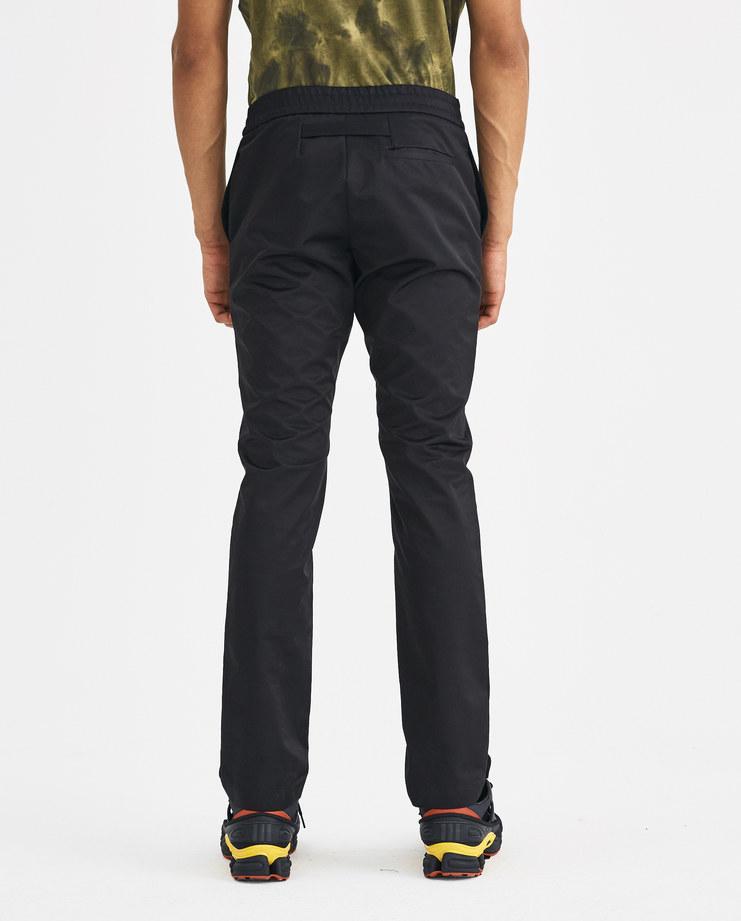 ALYX Black Elastic Waist Trouser Machine-A Machine A SHOWstudio A/W 18 pants black long legs