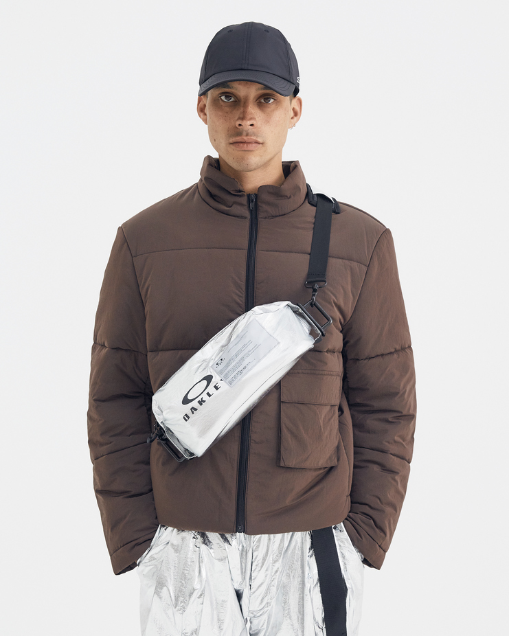 Oakley by Samuel Ross Black Utility Bag ACW a-cold-wall a cold wall collaboration capsule limited silver 921468 921510