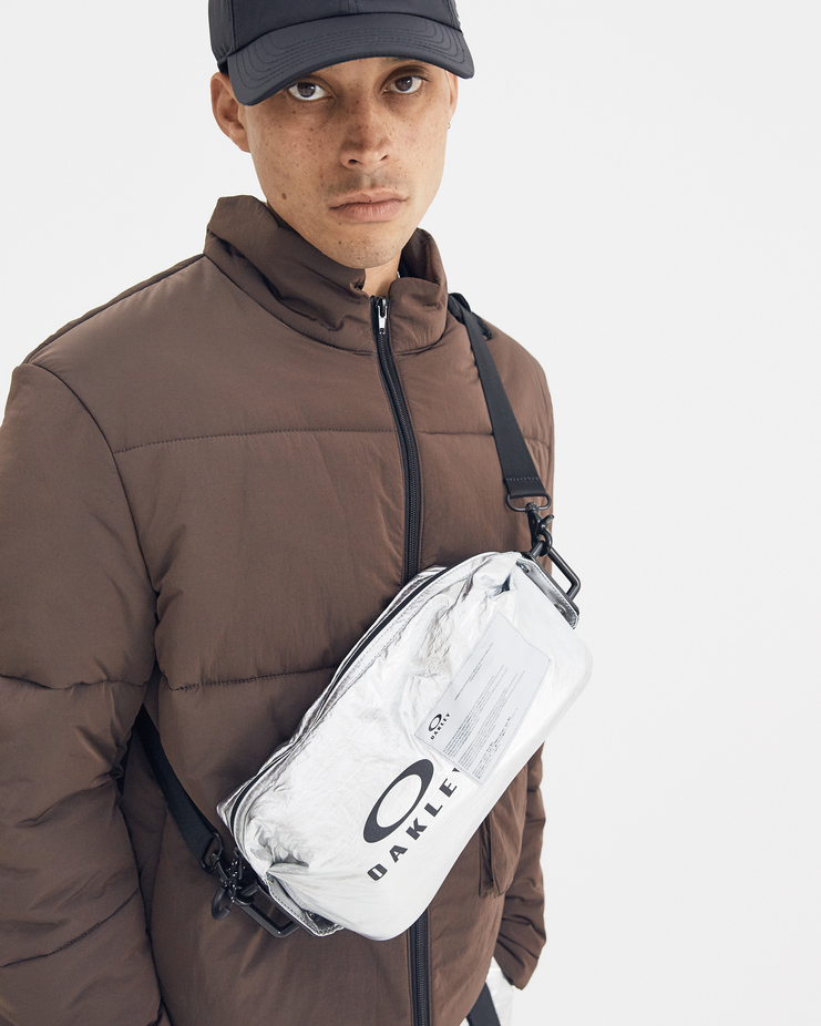 Oakley by Samuel Ross Silver Utility Bag ACW a-cold-wall a cold wall collaboration capsule limited silver 921468 921510