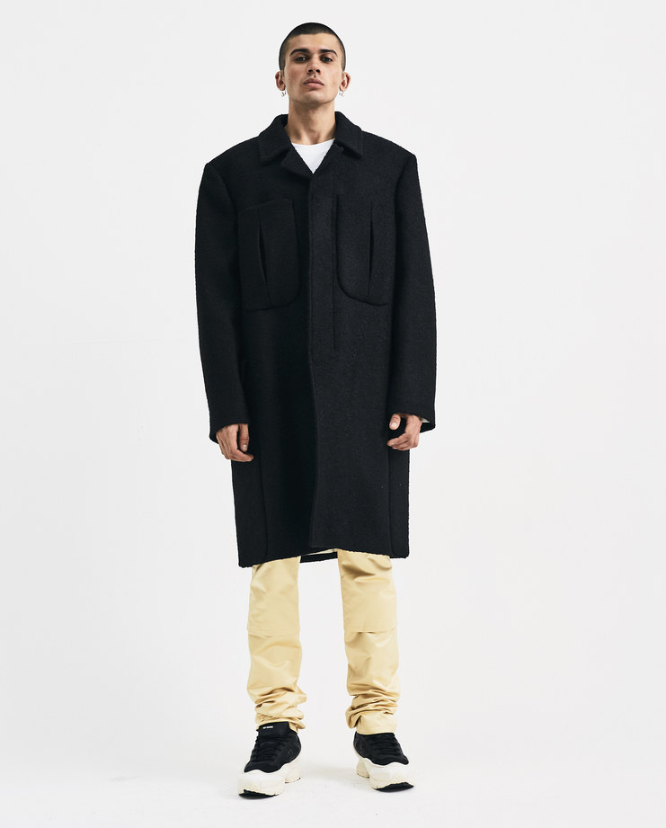 00099 A Black 640 Simons 182 Raf Classic Machine Coat 25011 Showstudio HO40wvUqx