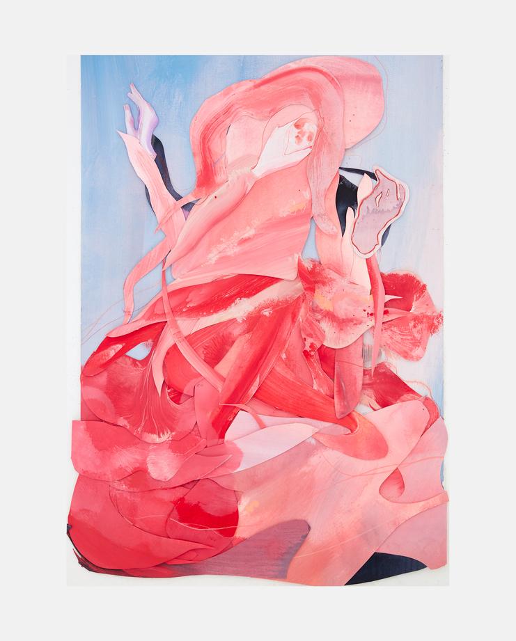 Lily Donaldson, Rob Unett, Fashion Illustration, 100 years of women exhibition, artwork