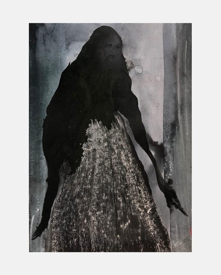 Amanda Harlech, Catherine Davidsen , Fashion Illustration, 100 years of women exhibition, artwork