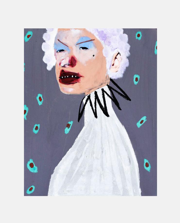 Kirsten Owen, February James, Fashion Illustration, 100 years of women exhibition, artwork