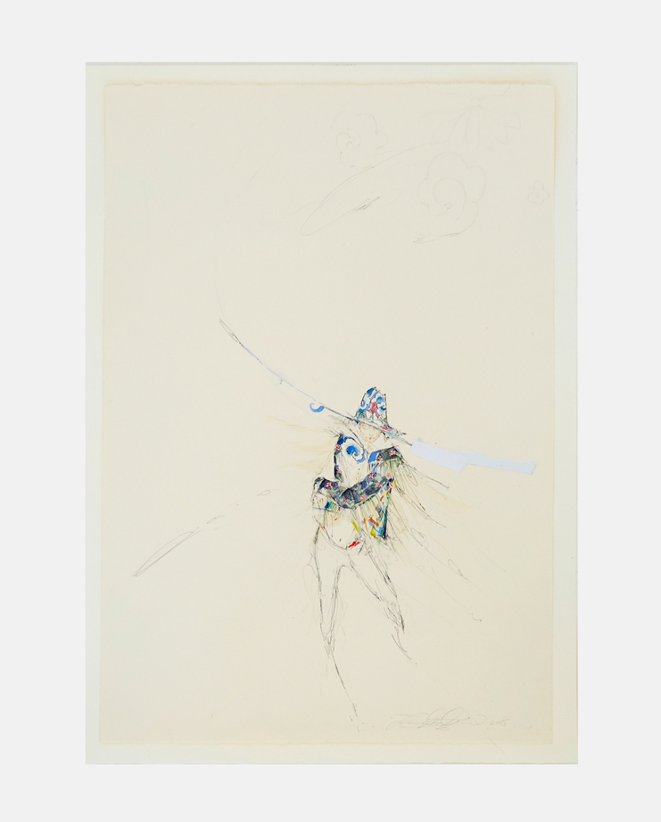 Shalom Harlow, Jessica May Underwood, Fashion Illustration, 100 years of women exhibition, artwork