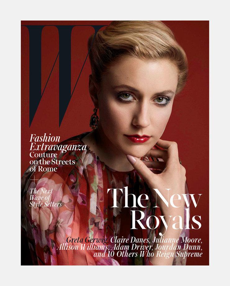 Greta Gerwig W Magazine