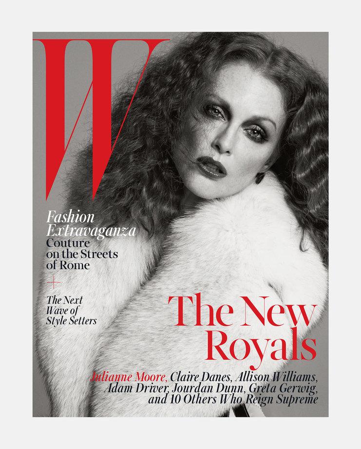 Julianne Moore W Magazine