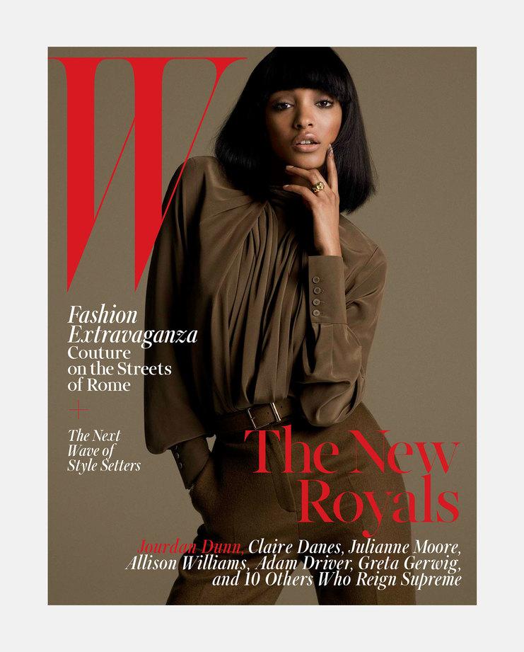 Jourdan Dunn W magazine