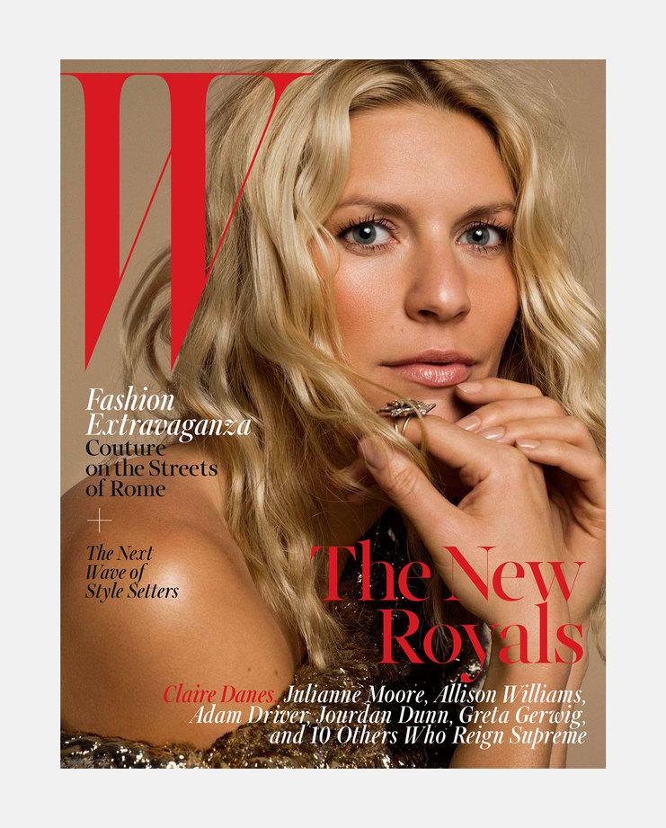 Claire Danes W Magazine