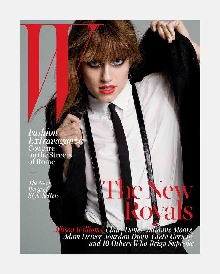 Allison Williams W Magazine