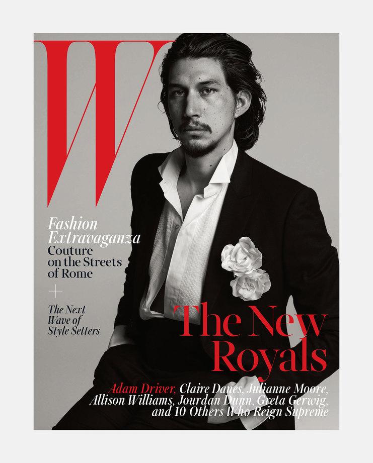 Adam Driver W Magazine