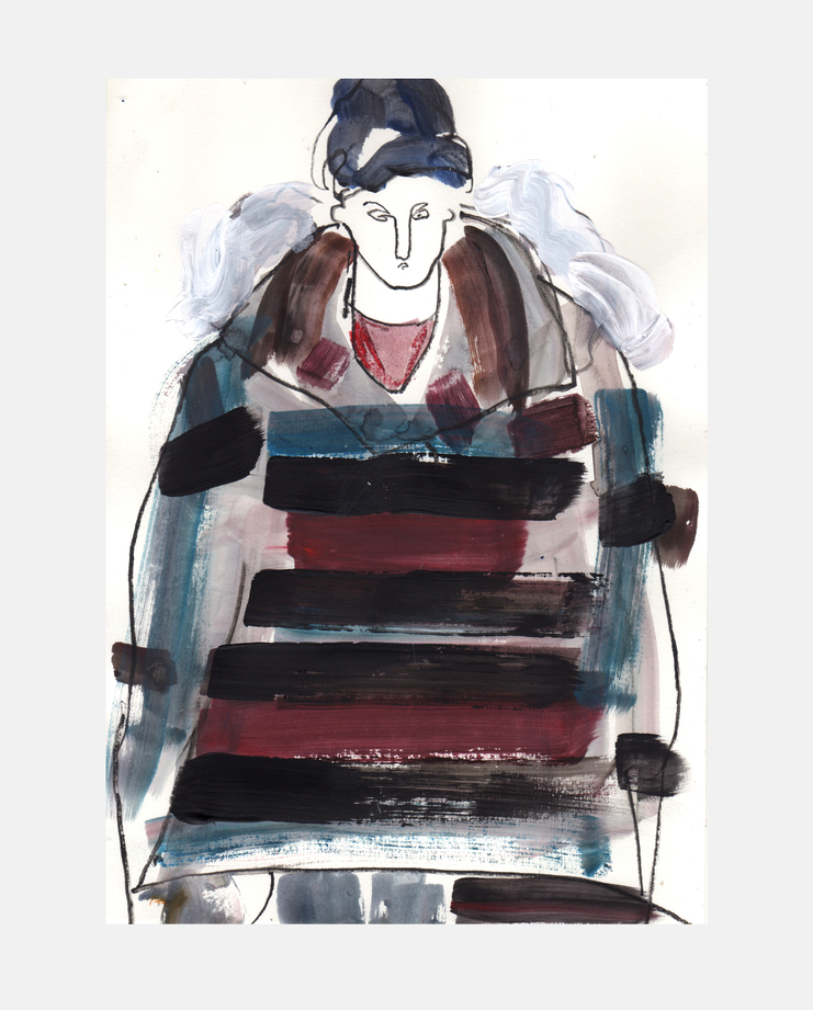 Louis Vuitton A/W 13 by Helen Bullock