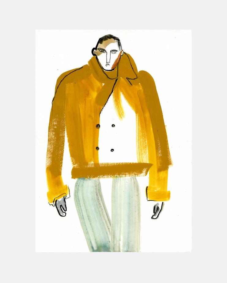 Emporio Armani Menswear A/W 13 by Helen Bullock
