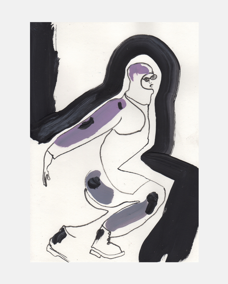 Bernhard Willhelm A/W 13 by Helen Bullock