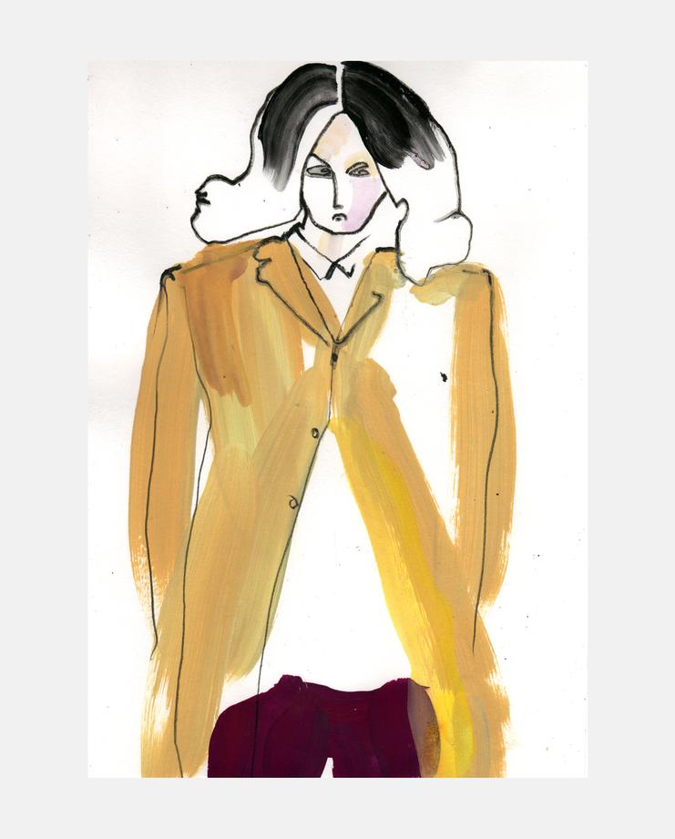 Commes des Garcons Menswear A/W 13 by Helen Bullock
