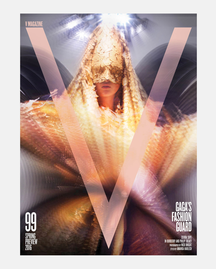 V Magazine, V99, Spring Preview 2016, Nick Knight, Amanda Harlech, The Moon and the Cats Eyes, Molly Bair, Cierra Skye