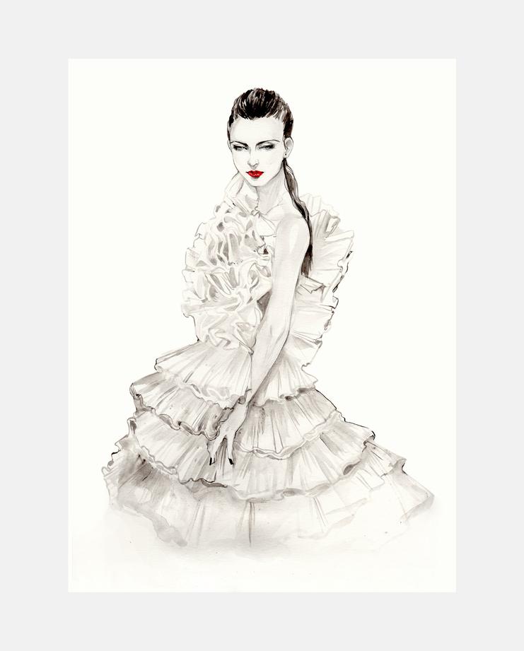 Giambattista Valli Haute Couture S/S 16 by Connie Lim