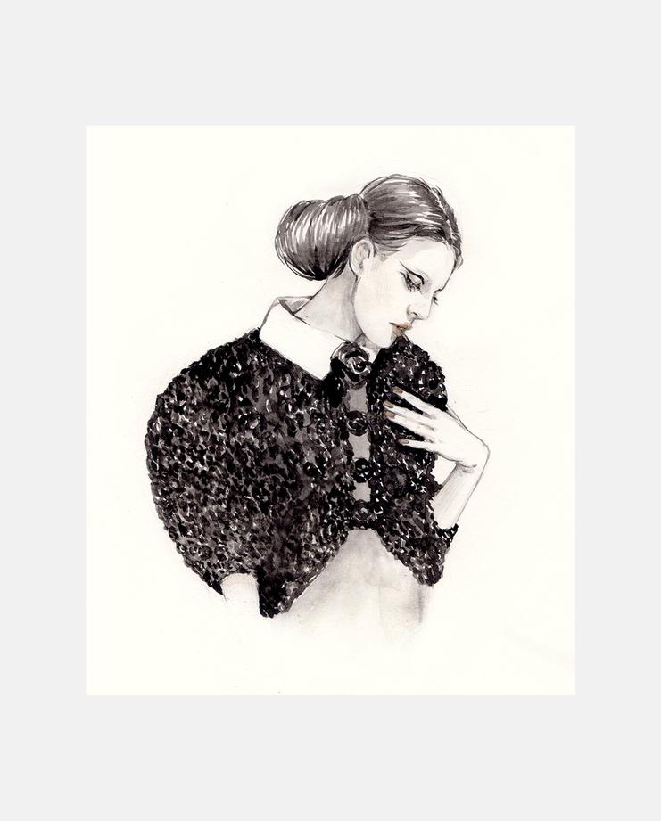 Chanel Paris Couture S/S 16 by Connie Lim