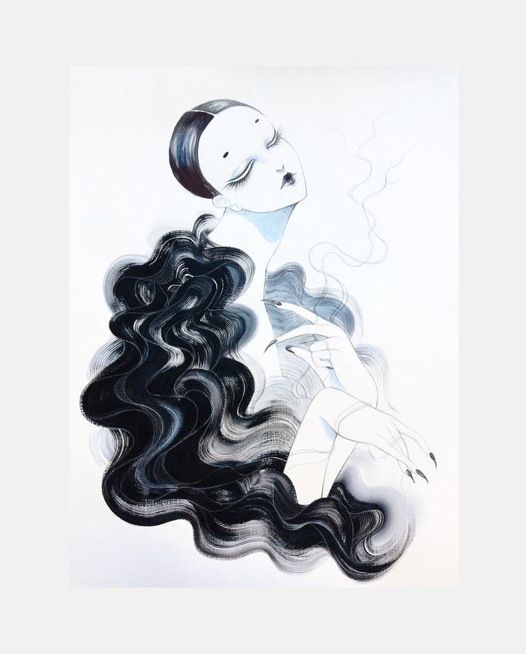 Noir Kei S/S 16 by Velwyn Yossy