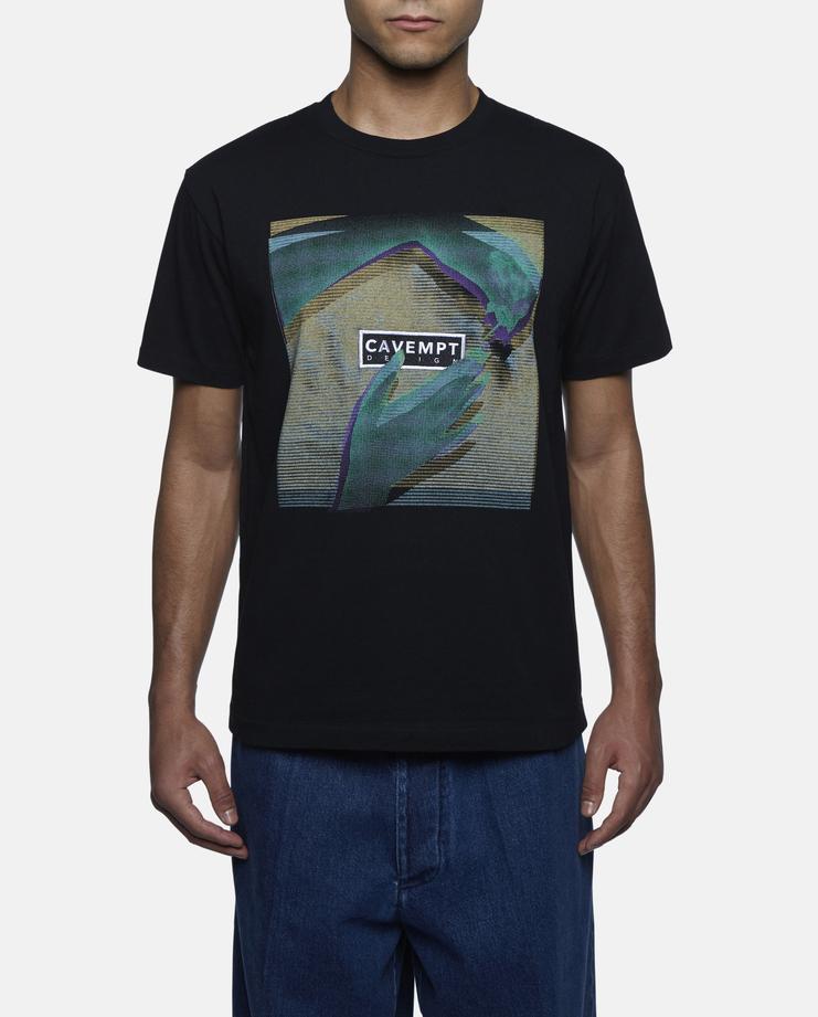 Cav Empt - 'Lacquer' Black T- Shirt