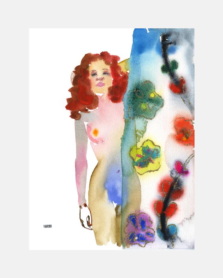 Chloé A/W 16 by Fahren Feingold