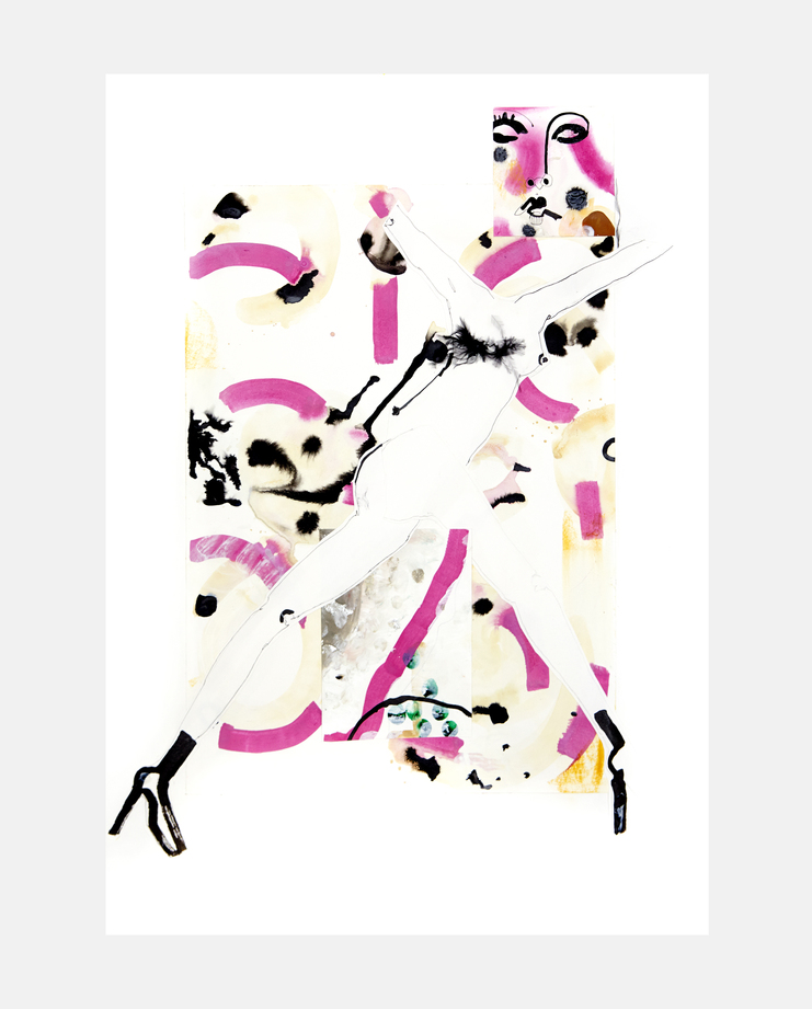 Personality Portrait #1 by Fiona Gourlay, fashion illustration