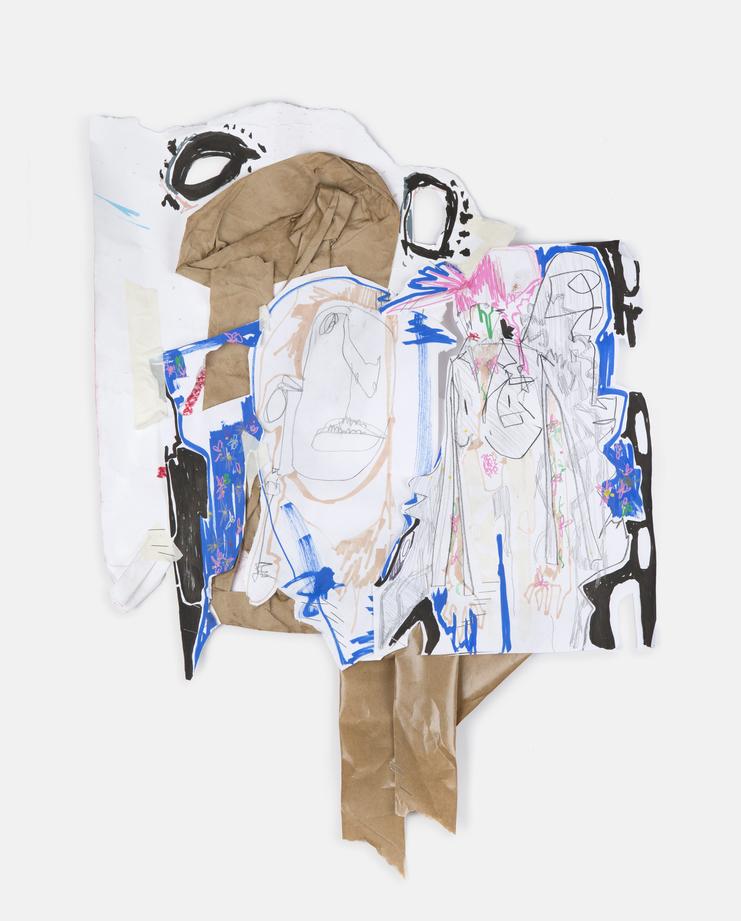 Charles Jeffrey Untitled III 2016