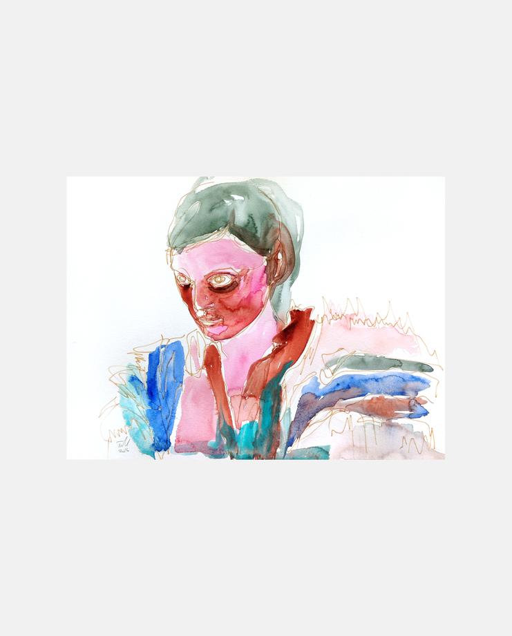 Vivienne Westwood S/S 17 by Tine Isachsen, showstudio, fashion illustration