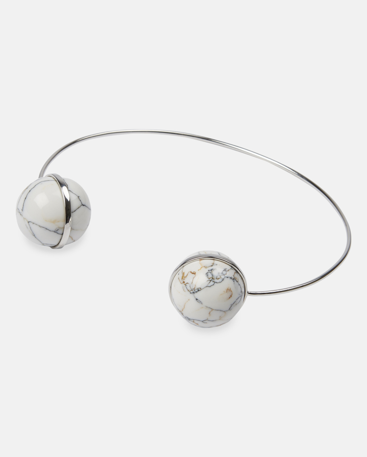 O Thongthai Cherry Bomb Choker Necklace Marble Jewellery