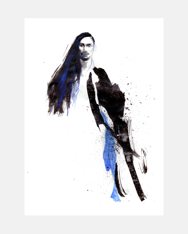 Yohji Yamamoto S/S 17 by Paola Travers