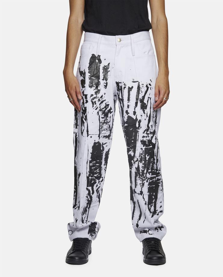Liam Hodges - Overprinted Jeans