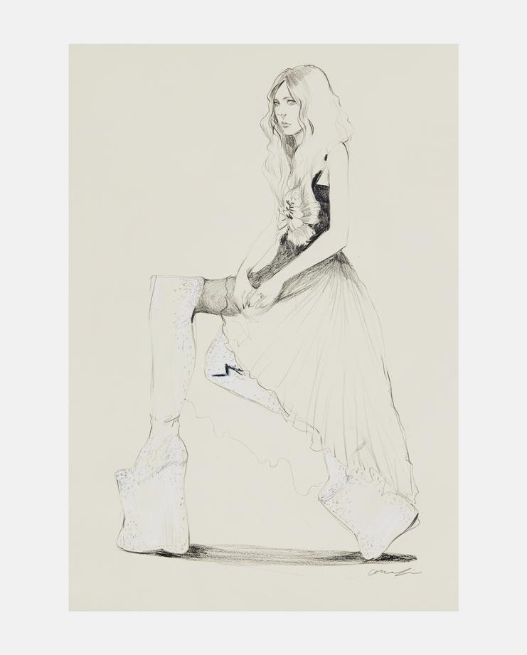 Connie Lim, Life Drawing Bair I