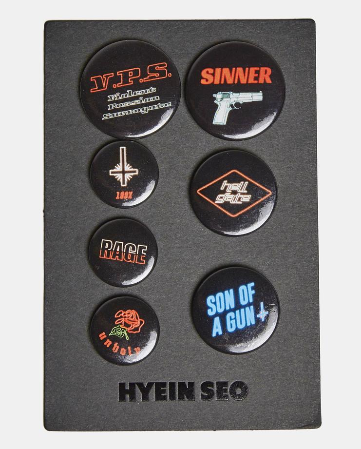 Hyein Seo Set of Badges AW16
