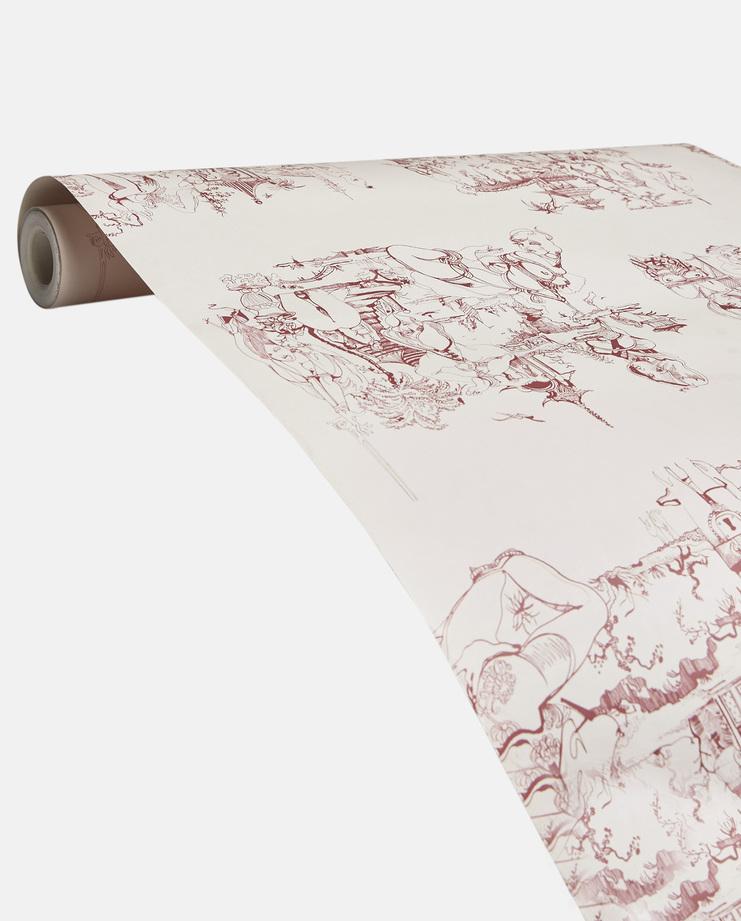 Julie Verhoeven & Peter Saville Forget Me Not Wallpaper